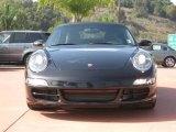 2008 Basalt Black Metallic Porsche 911 Carrera S Cabriolet #21058564