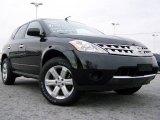 2006 Super Black Nissan Murano S #21056593