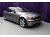 2004 Silver Grey Metallic BMW 3 Series 325i Sedan #21067481