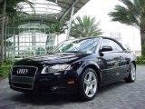 2008 Brilliant Black Audi A4 2.0T Cabriolet #2104222