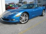 2008 Jetstream Blue Metallic Chevrolet Corvette Coupe #21114938