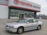 2001 Galaxy Silver Metallic Chevrolet Impala LS #21124682