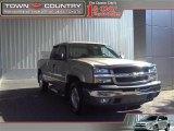 2005 Sandstone Metallic Chevrolet Silverado 1500 Z71 Extended Cab 4x4 #21132969