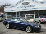 2002 True Blue Metallic Ford Mustang GT Coupe #21127038