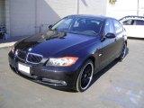 2007 Black Sapphire Metallic BMW 3 Series 328i Sedan #2110688