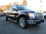 2010 Tuxedo Black Ford F150 XLT SuperCab 4x4 #21126041