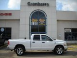 2006 Bright White Dodge Ram 1500 SLT Quad Cab 4x4 #21124232