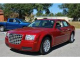 2008 Inferno Red Crystal Pearl Chrysler 300 LX #21124258