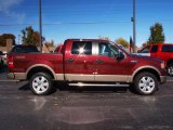 2006 Dark Toreador Red Metallic Ford F150 Lariat SuperCrew 4x4 #21118782