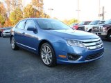 2010 Sport Blue Metallic Ford Fusion SE #21126038