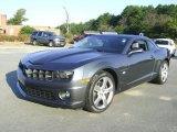 2010 Cyber Gray Metallic Chevrolet Camaro SS Coupe #21212297
