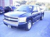 2008 Dark Blue Metallic Chevrolet Silverado 1500 LT Crew Cab 4x4 #21212258