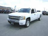 2009 Summit White Chevrolet Silverado 1500 LT Extended Cab #21212212