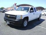 2009 Summit White Chevrolet Silverado 1500 Extended Cab 4x4 #21212214