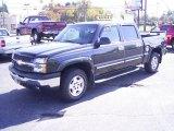 2005 Dark Gray Metallic Chevrolet Silverado 1500 Z71 Crew Cab 4x4 #21212271