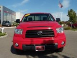 Radiant Red Toyota Tundra in 2007