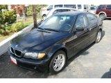 2002 Black Sapphire Metallic BMW 3 Series 325i Sedan #21236505