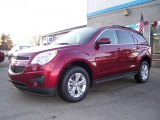 2010 Cardinal Red Metallic Chevrolet Equinox LT AWD #21226583