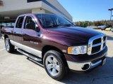 2005 Deep Molten Red Pearl Dodge Ram 1500 SLT Quad Cab 4x4 #21240059