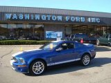 2009 Vista Blue Metallic Ford Mustang Shelby GT500 Coupe #21237338
