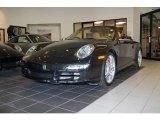 2007 Basalt Black Metallic Porsche 911 Carrera S Cabriolet #21238506