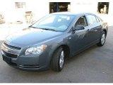 2008 Dark Gray Metallic Chevrolet Malibu LS Sedan #21245250