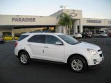 2010 Summit White Chevrolet Equinox LT #21304848