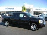 2009 Black Chevrolet Silverado 1500 LT Crew Cab #21304842
