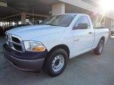 2010 Stone White Dodge Ram 1500 ST Regular Cab #21304803