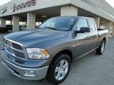 2010 Mineral Gray Metallic Dodge Ram 1500 Big Horn Quad Cab #21304795