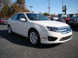 2010 White Suede Ford Fusion SE V6 #21297875