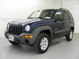 2002 Patriot Blue Pearlcoat Jeep Liberty Sport 4x4 #21306651