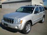 2006 Bright Silver Metallic Jeep Grand Cherokee Limited 4x4 #21292089