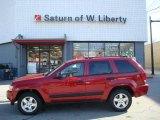 2006 Inferno Red Crystal Pearl Jeep Grand Cherokee Laredo 4x4 #21294218