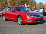 2010 Sangria Red Metallic Ford Fusion SE #21297874