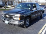 2006 Black Chevrolet Silverado 1500 Work Truck Extended Cab #21337896