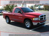 2005 Flame Red Dodge Ram 1500 ST Regular Cab #21360371