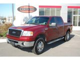 2006 Dark Toreador Red Metallic Ford F150 XLT SuperCrew 4x4 #21352940