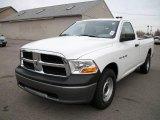2010 Stone White Dodge Ram 1500 ST Regular Cab 4x4 #21372604