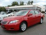 2008 Barcelona Red Metallic Toyota Camry Hybrid #21381376
