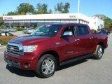 2008 Salsa Red Pearl Toyota Tundra Limited CrewMax 4x4 #21381369