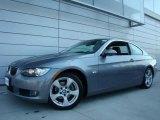 2007 Space Gray Metallic BMW 3 Series 328xi Coupe #21371555
