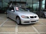 2008 Titanium Silver Metallic BMW 3 Series 328xi Sedan #21378959