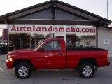 2001 Flame Red Dodge Ram 1500 Sport Regular Cab 4x4 #21381445