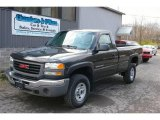 2003 Carbon Metallic GMC Sierra 2500HD Regular Cab 4x4 #21380050