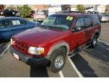 2000 Toreador Red Metallic Ford Explorer XLS 4x4 #21381707