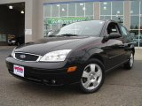 2005 Pitch Black Ford Focus ZX3 SES Coupe #21375674