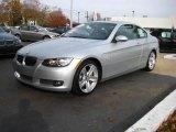 2007 Titanium Silver Metallic BMW 3 Series 335i Coupe #21375679