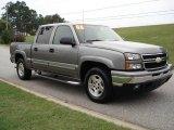 2006 Graystone Metallic Chevrolet Silverado 1500 Z71 Crew Cab 4x4 #21383758
