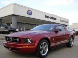 2006 Redfire Metallic Ford Mustang V6 Premium Coupe #21375032
